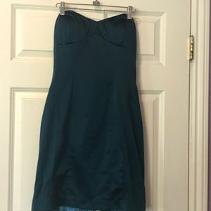 Teal formal homecoming/prom dress